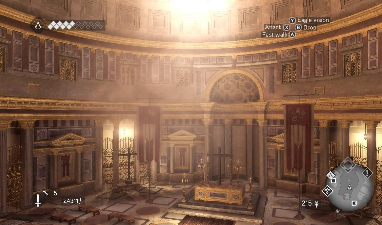 Il Pantheon (Roma)  The Pantheon (Rome)  Assassin's creed brotherhood