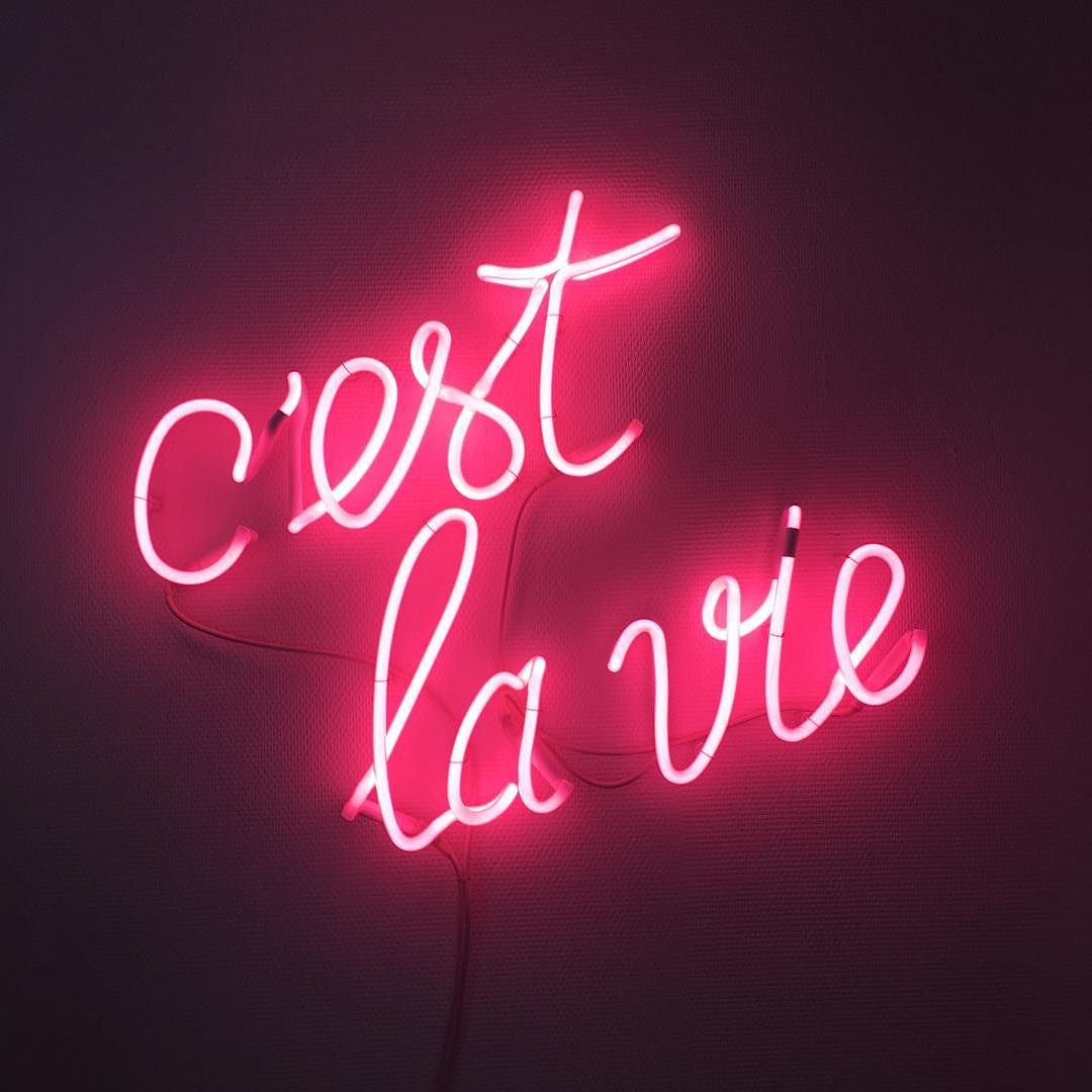 Ave A Safe Trip To Arles Girlz Neonlight Neon Quotes
