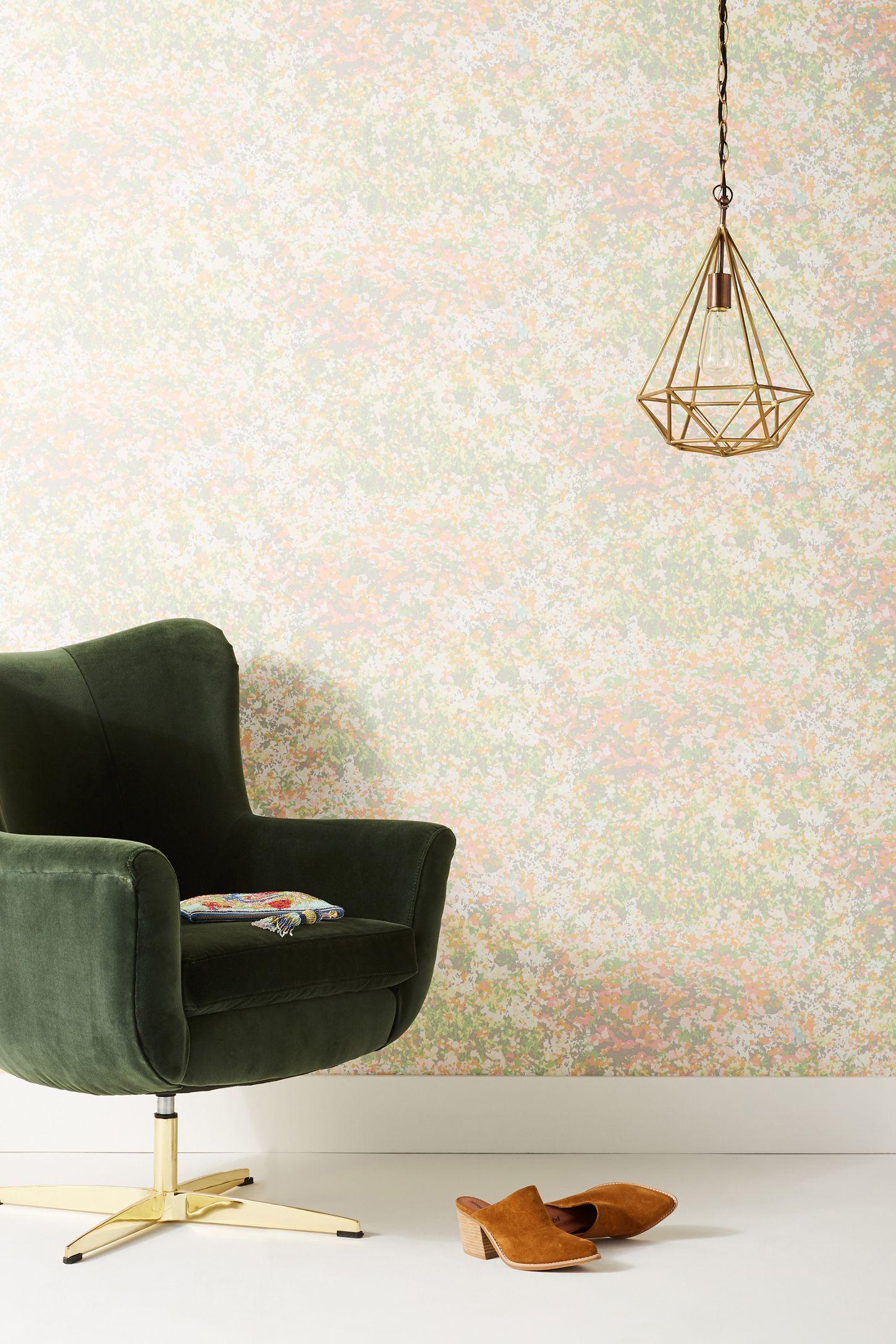 Slide View 1 Floral Field Wallpaper Field wallpaper