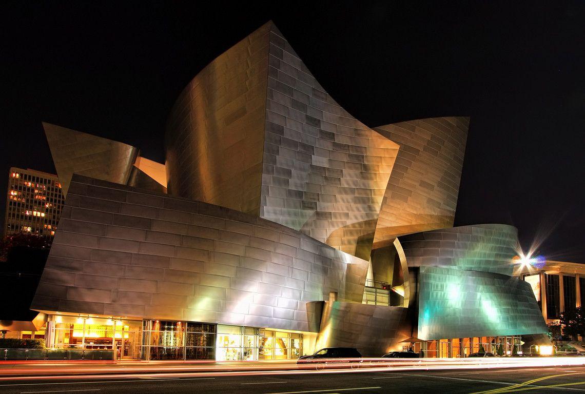 Walt Disney Concert Hall, Los Angeles, California, United States - Frank Owen Gehry