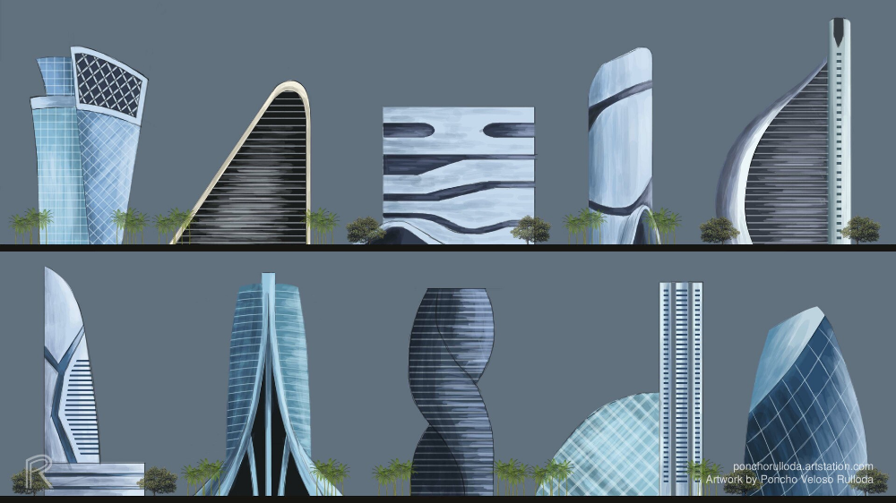 Futuristic Buildings Google Search Futuristic Building Facade Facade