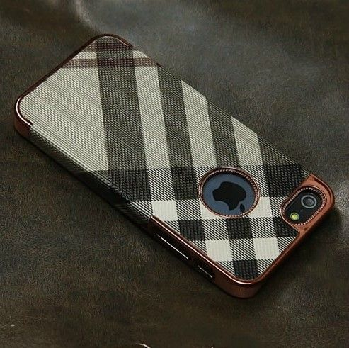 OEM Θήκη Ρίγες Stripes Pattern Case -  Kαφέ Λαδί (iPhone 5/5s) - myThiki.gr - Θήκες Κινητών-Αξεσουάρ για Smartphones και Tablets - Χρώμα καφέ - λαδί