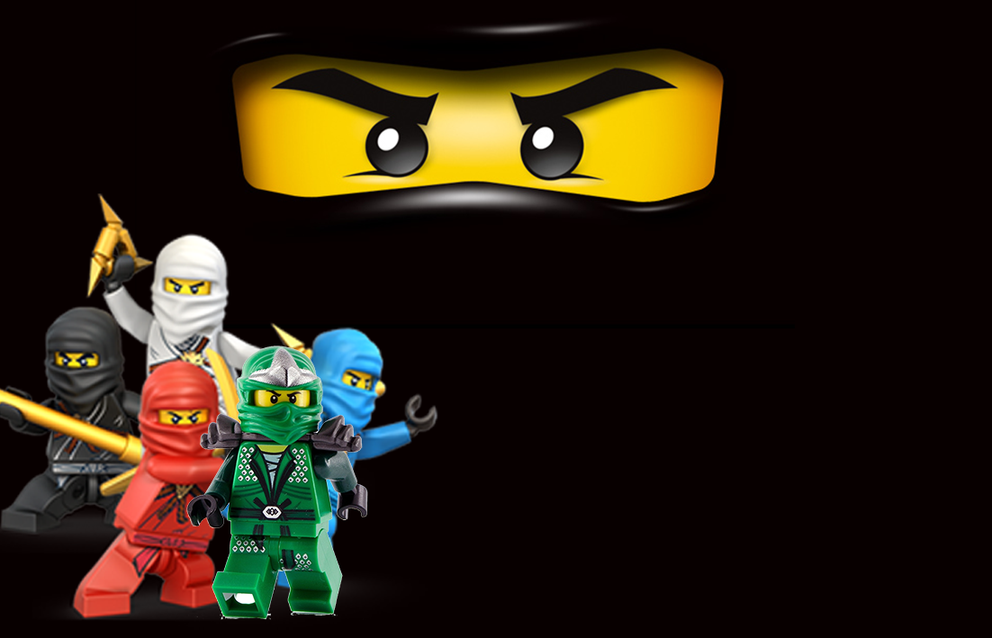 Kit digital anivers rio ninjago para imprimir convites - Lego ninjago d or ...