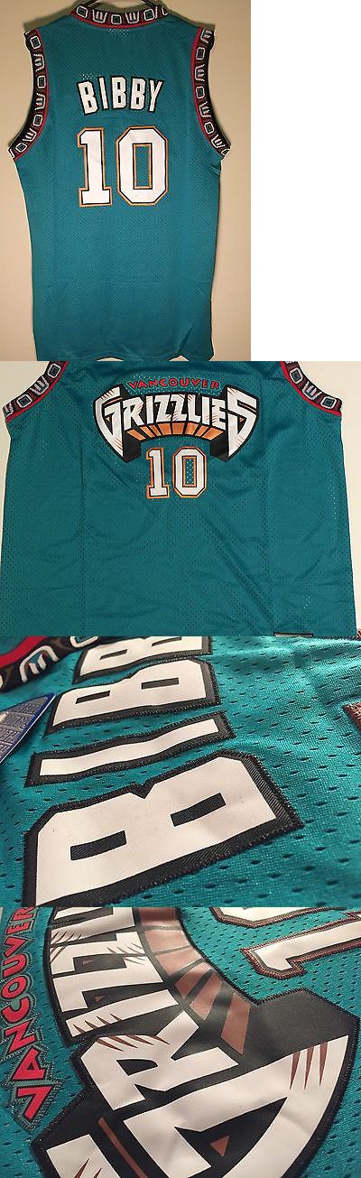 6396a3ec828 ... basketball nba 24442 nwt mike bibby 10 vancouver grizzlies throwback  basketball jersey green