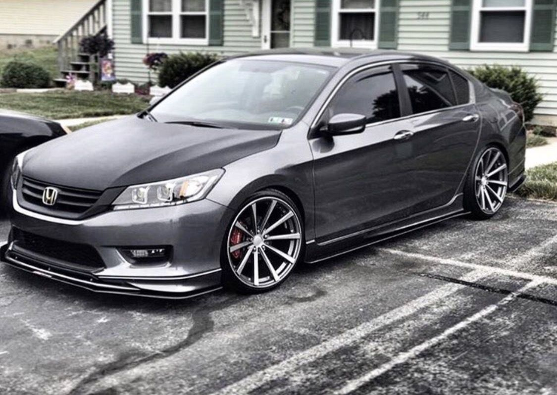 Honda accord on cv3 s customer submissions teamvossen pinterest honda accord honda and cars