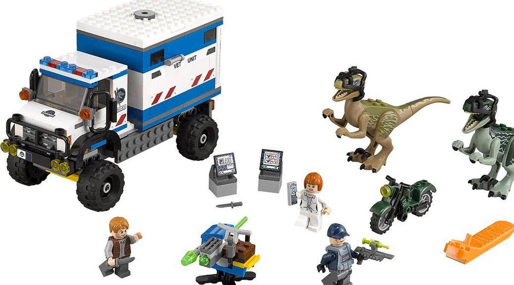 LEGO: Jurassic World, el videojuego para consolas y el playset más ...