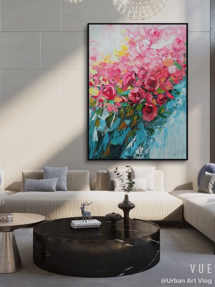 Large Modern Abstract Painting,Abstract Painting,O