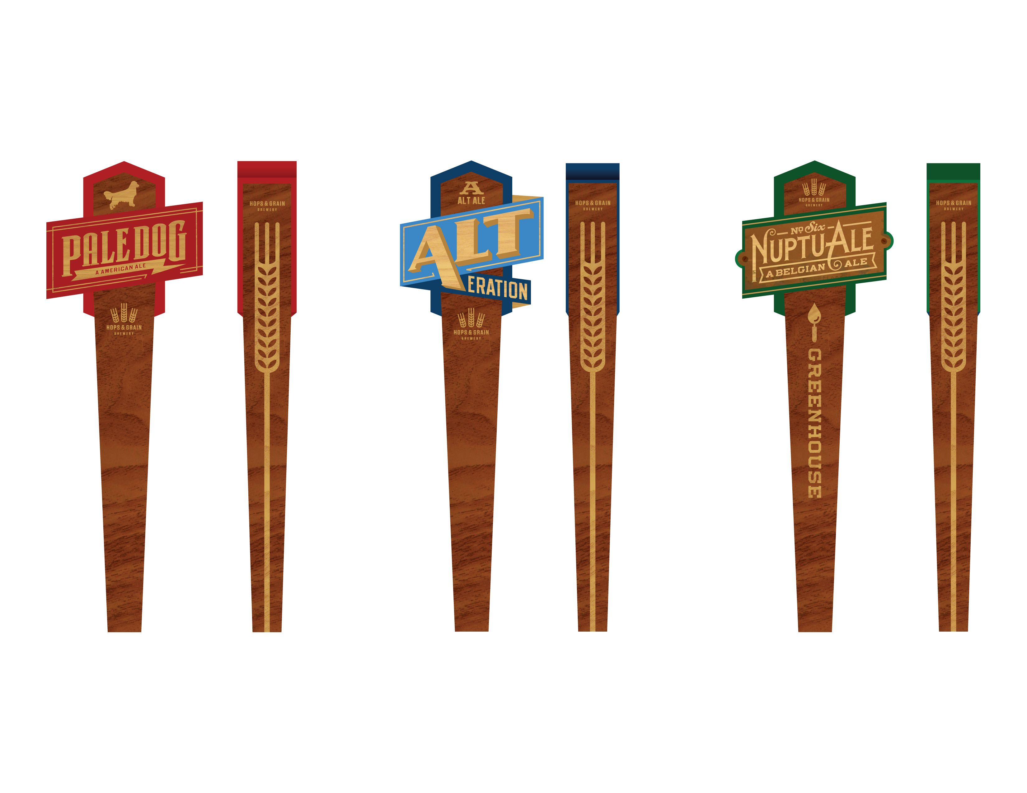 Hops grain tap handles taps great example of one tap handle working for multiple brews heres a sneak peak at sciox Gallery