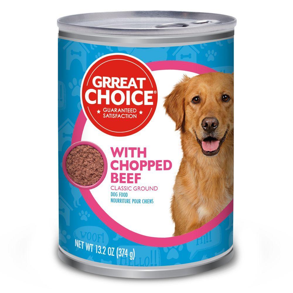 Grreat choice adult dog food size 132 oz dog food