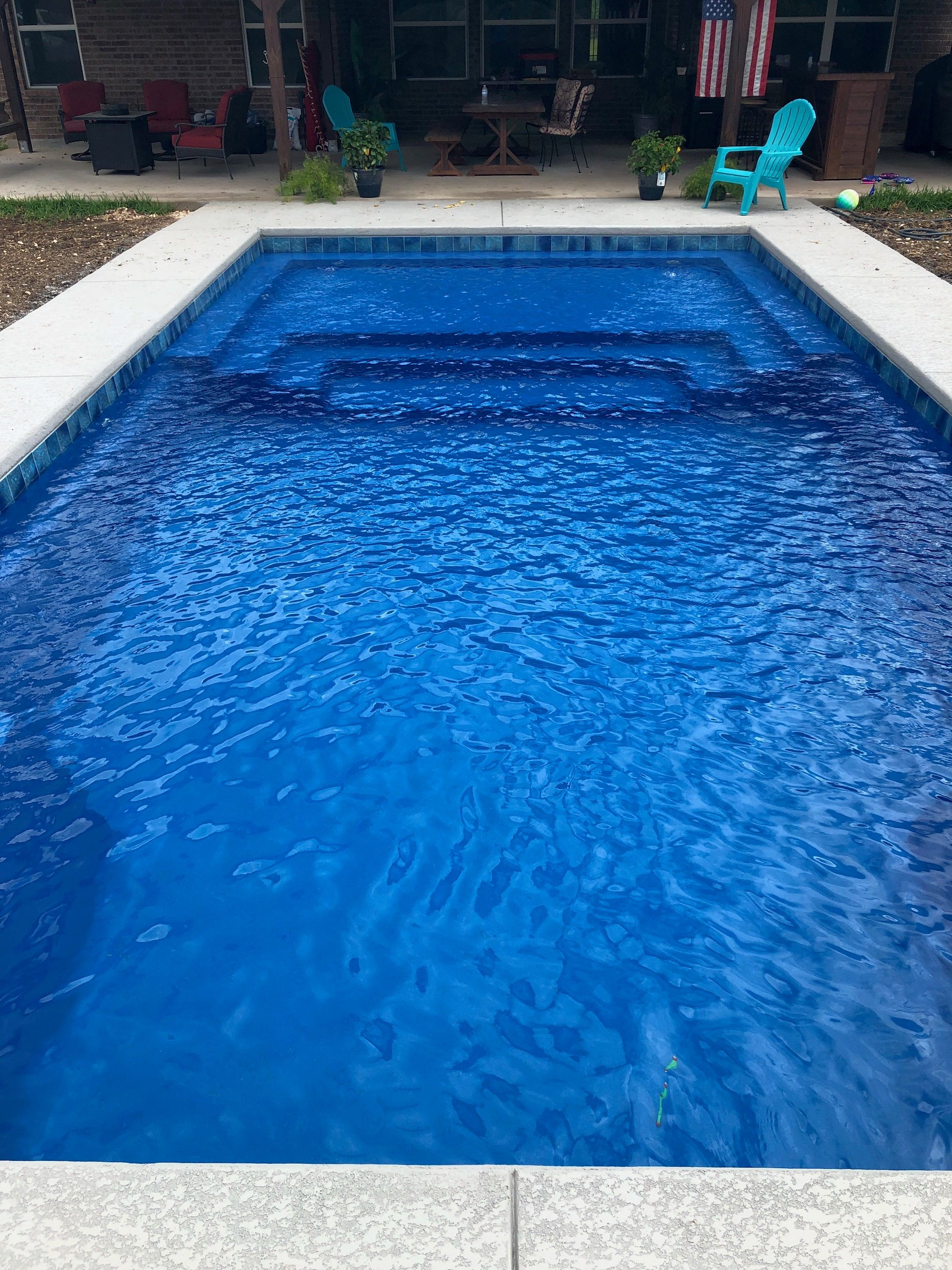 Imagine Pools Newest Design The Illusion Is Quickly Becoming One Of Our Most Popular Designs And Here S More P Fiberglass Swimming Pools Pool Swimming Pools