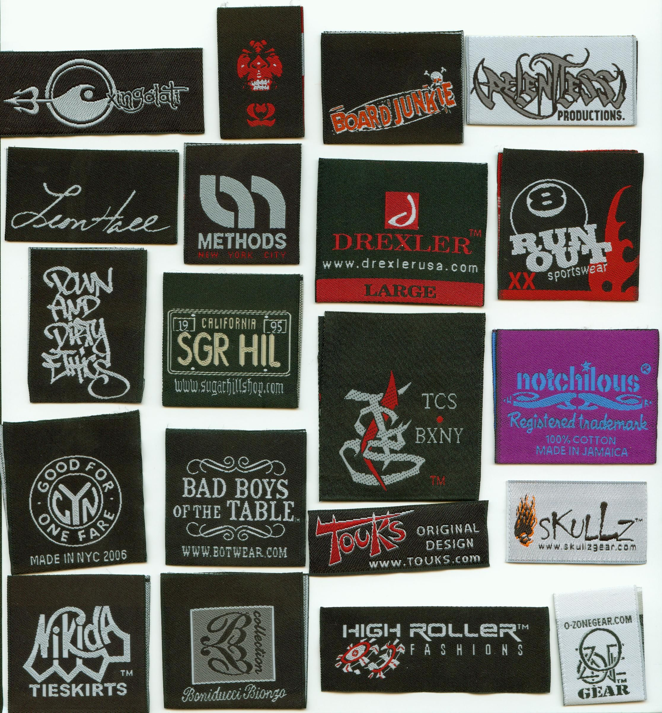 The Different Types Of Labels Manufactured By The Clothing
