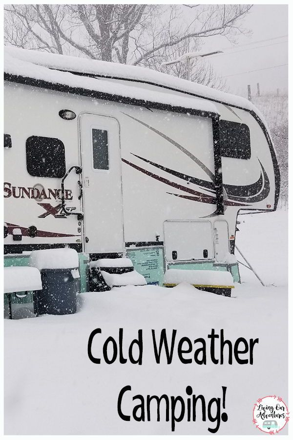 Living in your camper during those cold winter months