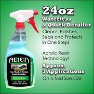 Alien waterless car wash