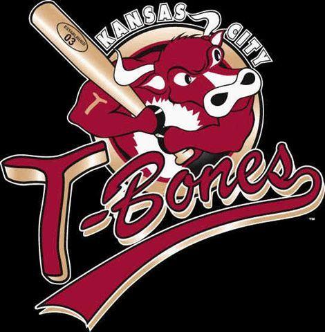 Kansas City T Bones Baseball Baseball Teams Logo Minor League Baseball Kansas City