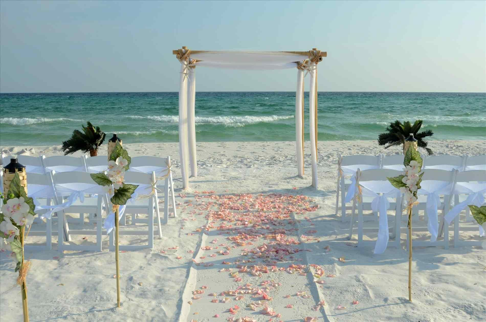 Pin by Hannah Hatfield on Ceremony Beach wedding setup