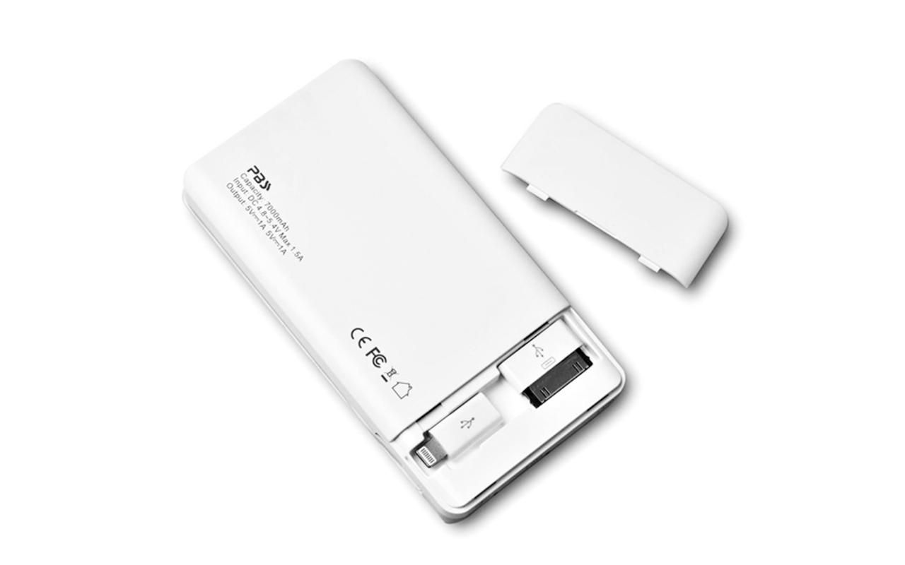 Pbs 3 In 1 Smart Mah External Battery Pack With Usb