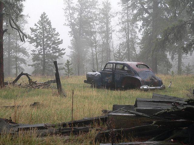 Tinton South Dakota Abandoned Vehicles