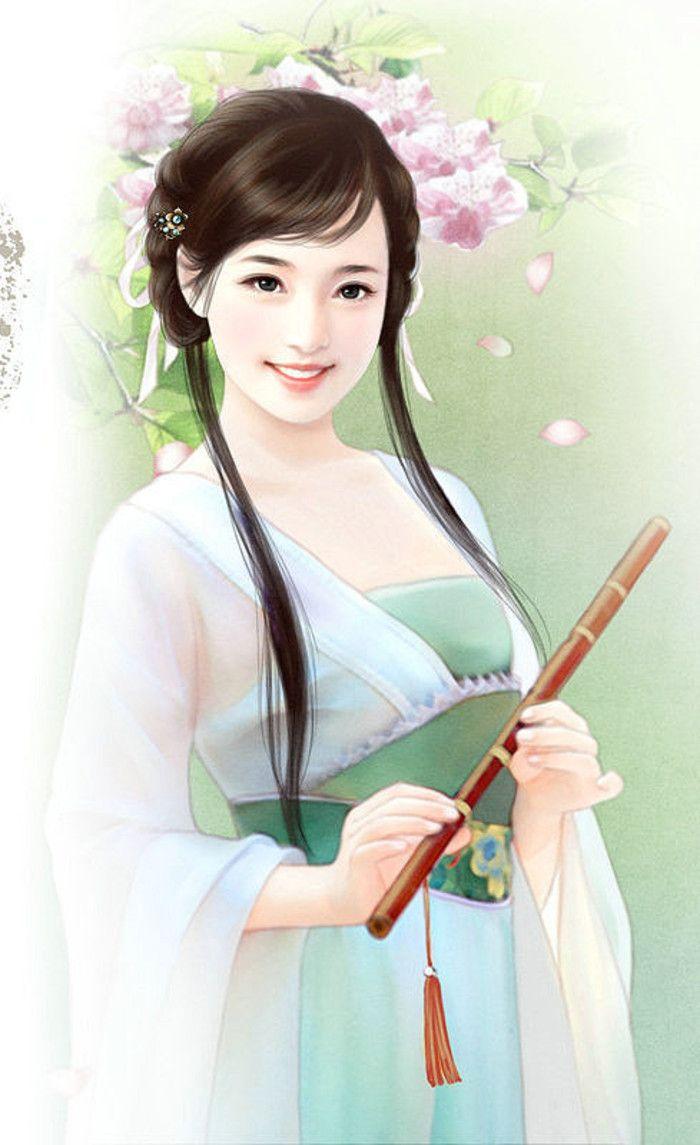 речевое картинка китаянка рисунок для