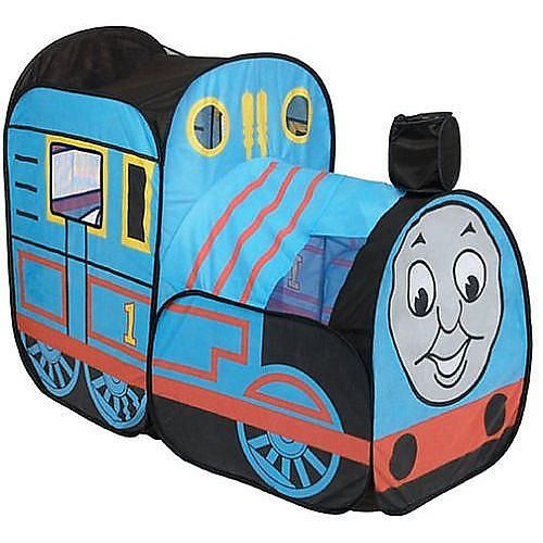 Climb aboard Thomas u0026 Friends Indoor Play Tent for hours of make-believe fun.  sc 1 st  Pinterest : thomas train tent - memphite.com