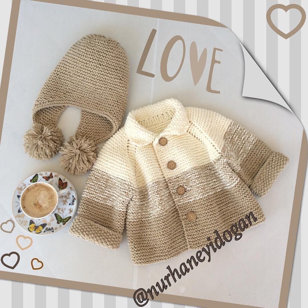 How to knit kid sweater | Ganchillo | Pinterest | Bebé, Tejido y Bebe