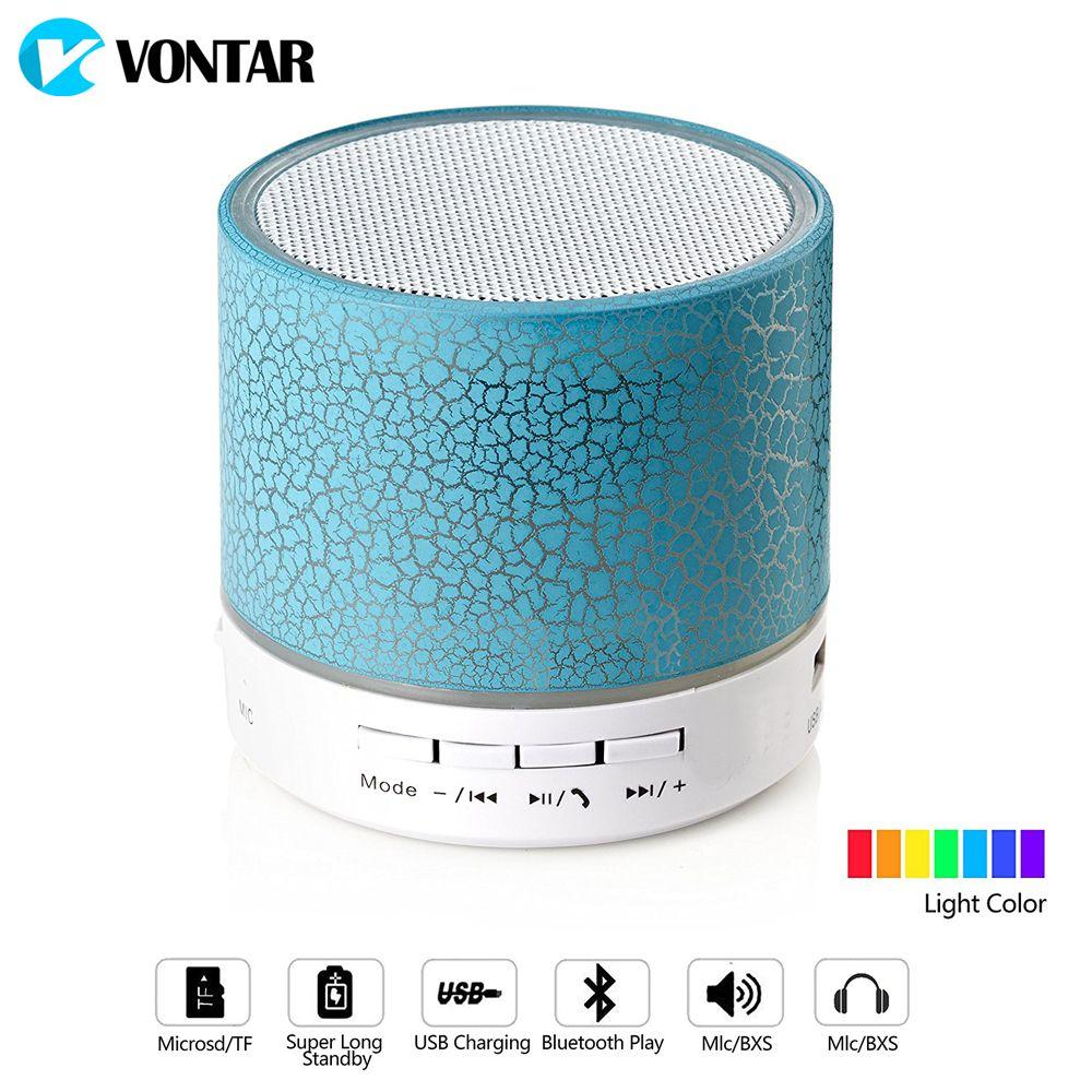 Us 8 05 Vontar Led Bluetooth Speaker Wireless Hands Free Portable Subwoofer Loudspeakers Bluetooth Free Hands Loudspeakers Portable Speaker Subwoofer