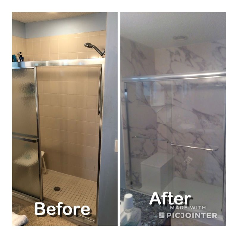 Brevard Florida Bathroom Remodeling Photos Before and ...