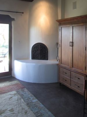 Custom Made Designs for Arched Fireplace Doors in California and Arizona