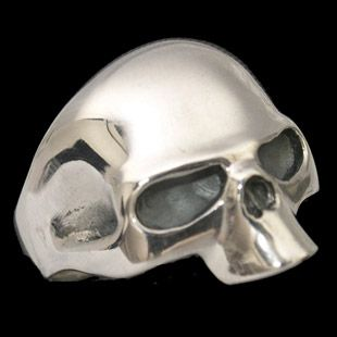 The Half Skull Biker Ring