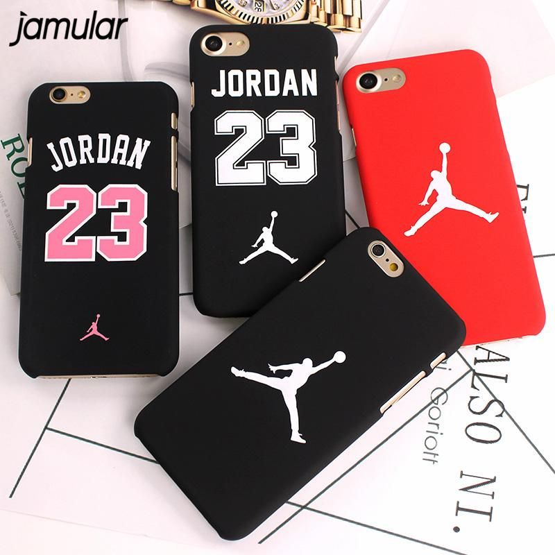 New Jordan Slim NBA Matte Case For iPhone X-8-7-6-6S Plus
