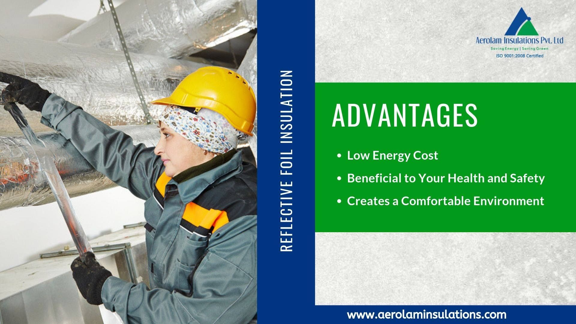 Pin By Aerolam Insulations On Insulations Solutions Reflective Foil Insulation Insulation Materials Foil Insulation