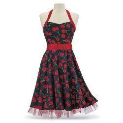 Cherry Halter Dress