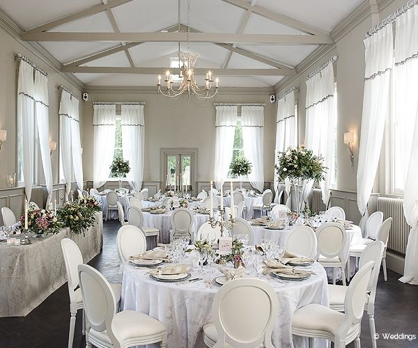 The Wedding Reception Room At Morden Hall In London
