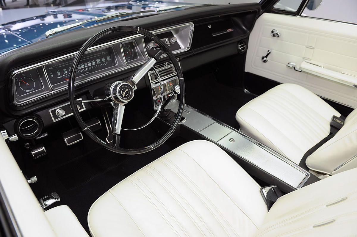 66 impala ss 427 interior