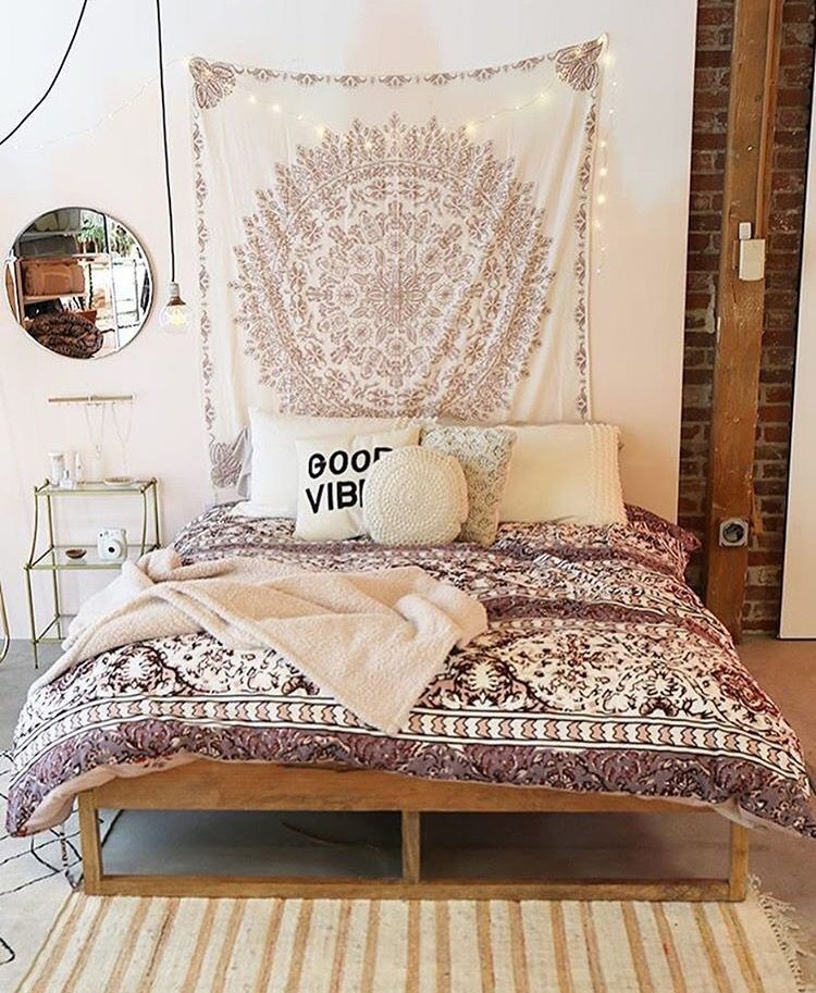 Westwingnl boho bed voor meer inspiratie for Chambre urban outfitters