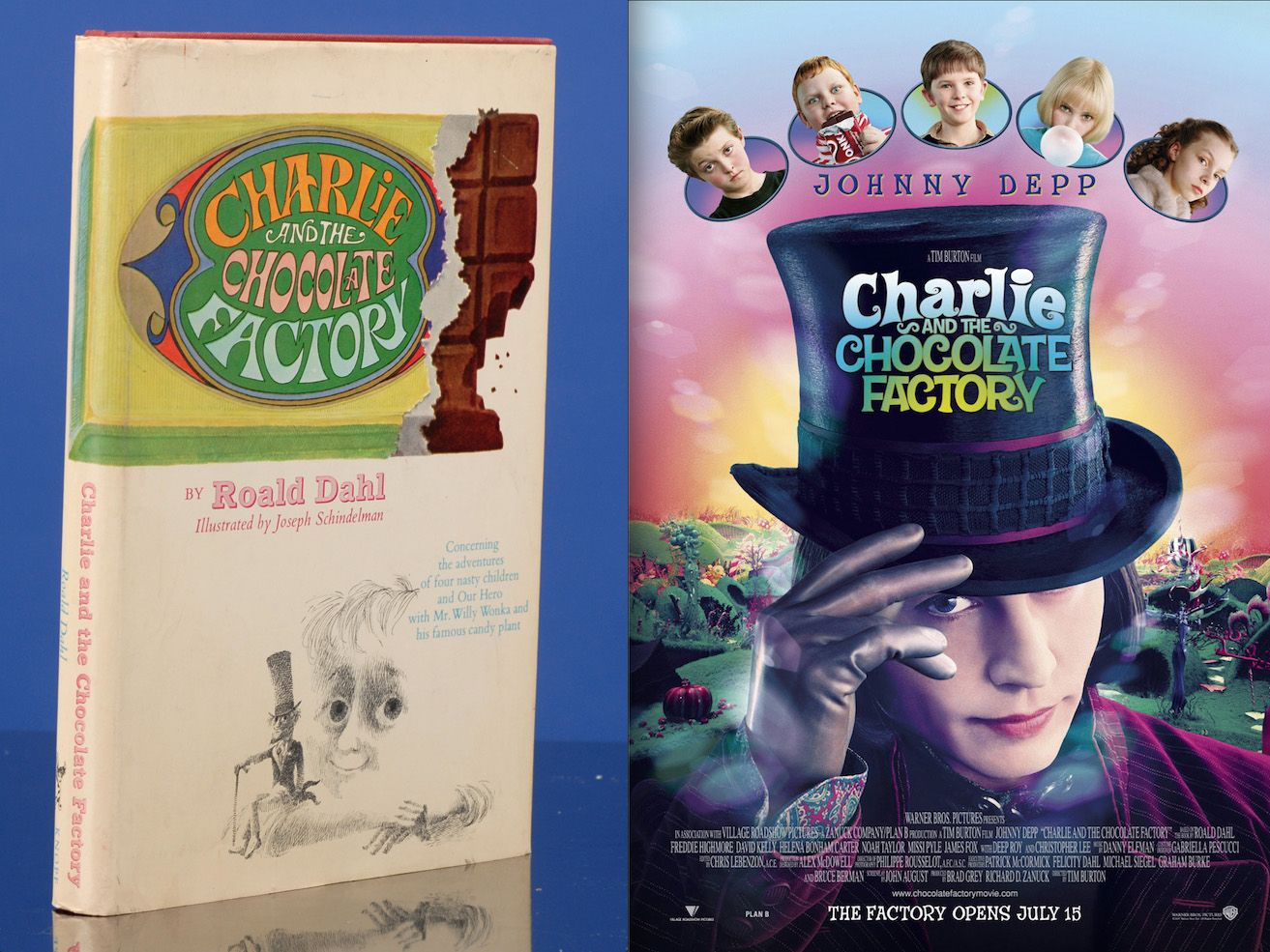 charlie the chocolate factory is a children s book written charlie the chocolate factory is a 1964 children s book written by british author roald
