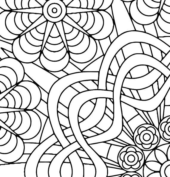 flower power coloring pages - photo#16