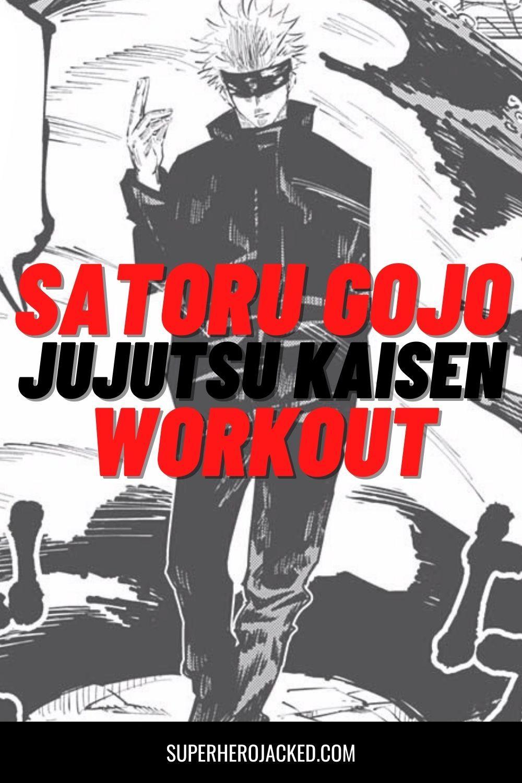 Satoru Gojo Workout Train Like Jujutsu Kaisen Teacher Workout Pyramid Training Jujutsu