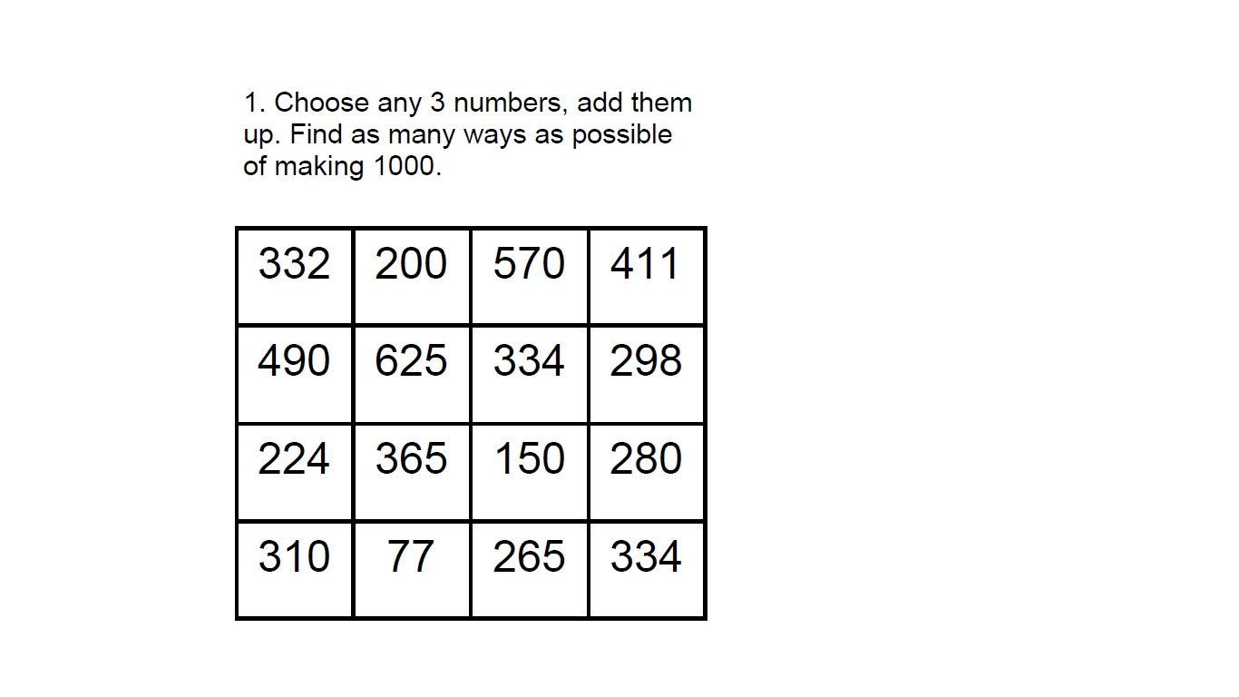 Maths Puzzles For Kids