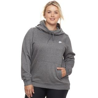 86efb675 Plus Size Nike Cowlneck Hoodie | Working on My Fitness... in 2019 ...