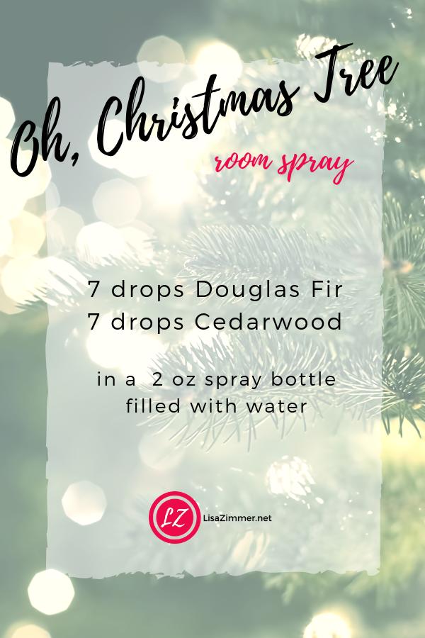 Oh Christmas Tree Room Spray Christmas Tree Essential Oil Blend Christmas Tree Essential Oil Essential Oils Room Spray