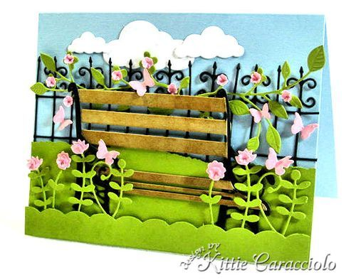 KC Poppy stamps Madison Park Bench 1 right