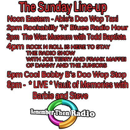 The Sunday Line-Up - http://rememberthenradio.com/