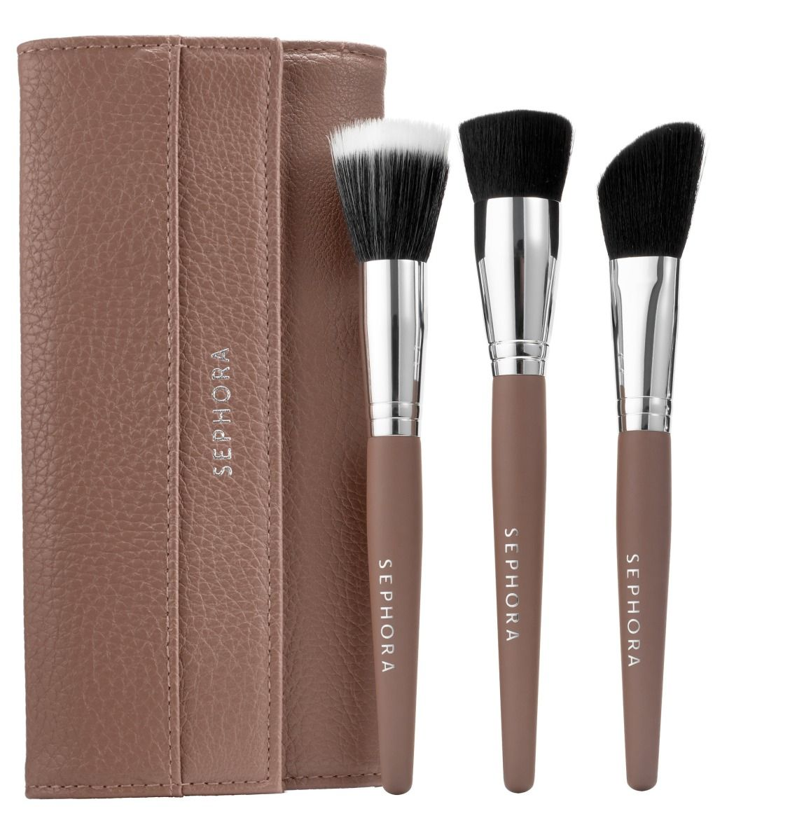 I love the stippling and flat top brushes in this set. I