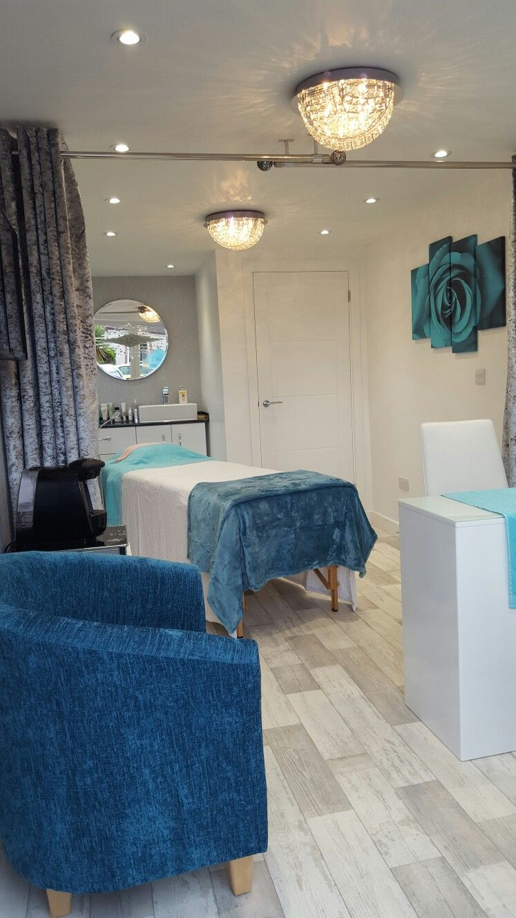 Beauty Salon Garage Conversion Spa Room Decor
