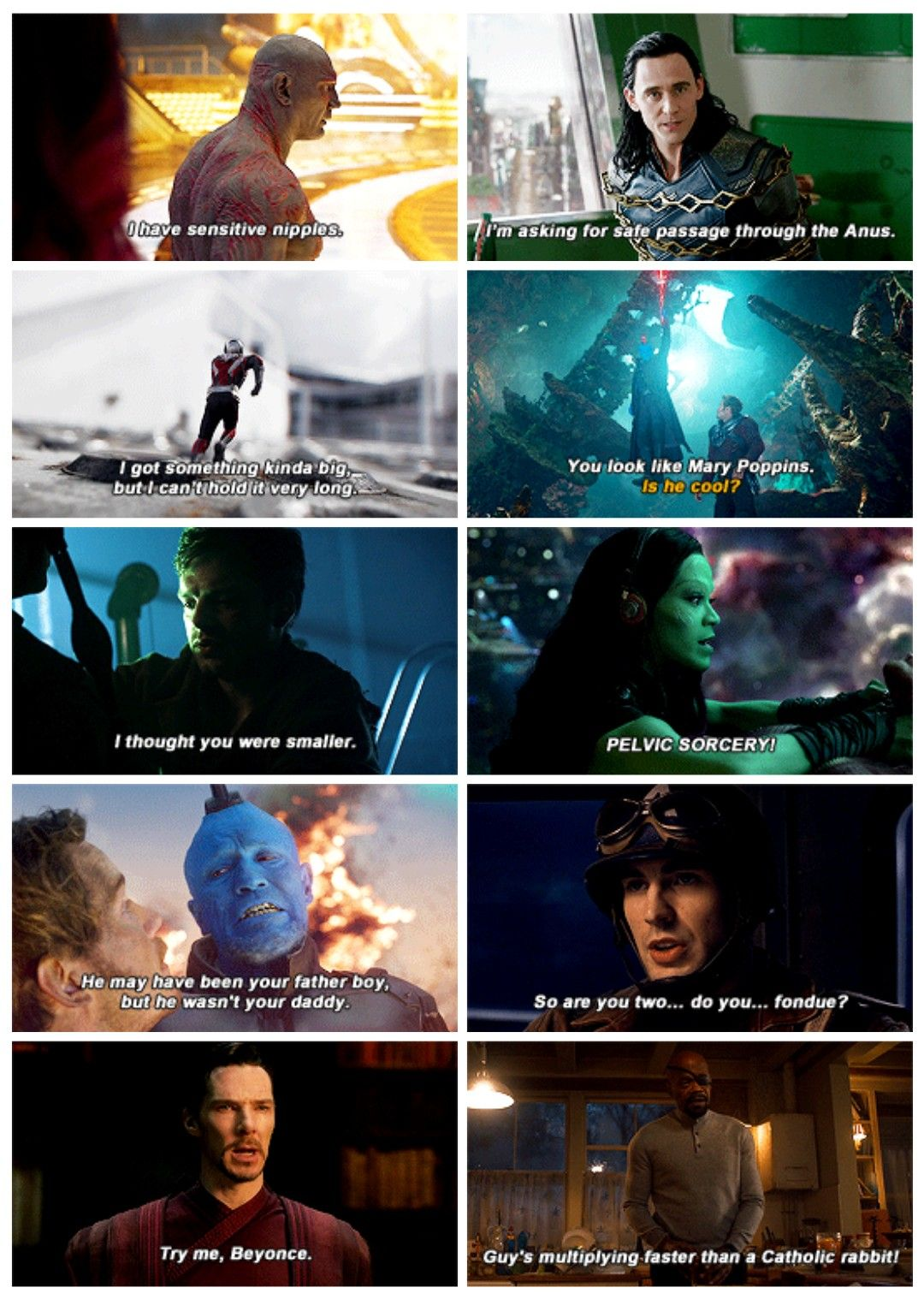 Mcu Without Context Marvel Quotes Marvel Superheroes Marvel