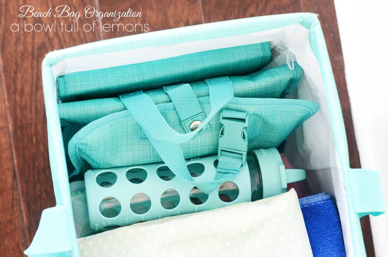 Beach & Pool Bag Organization (and checklist) - A Bowl Full of ...