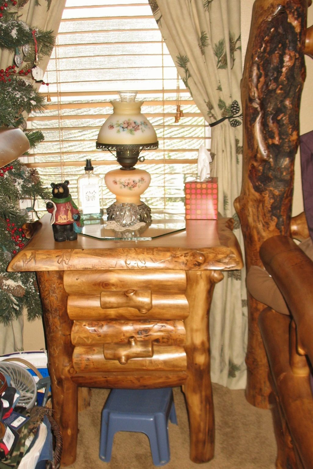 Our Beautiful 2 Drawer Nightstand From Jhe Log Furniture Place