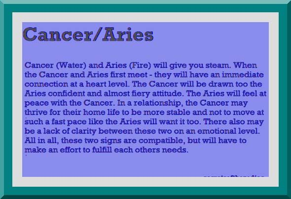 compatibility with cancer and aries relationship