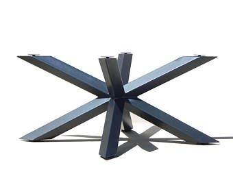 Furniture Legs Metal Contemporary industrial dining table, modern dining table, metal pedestal table