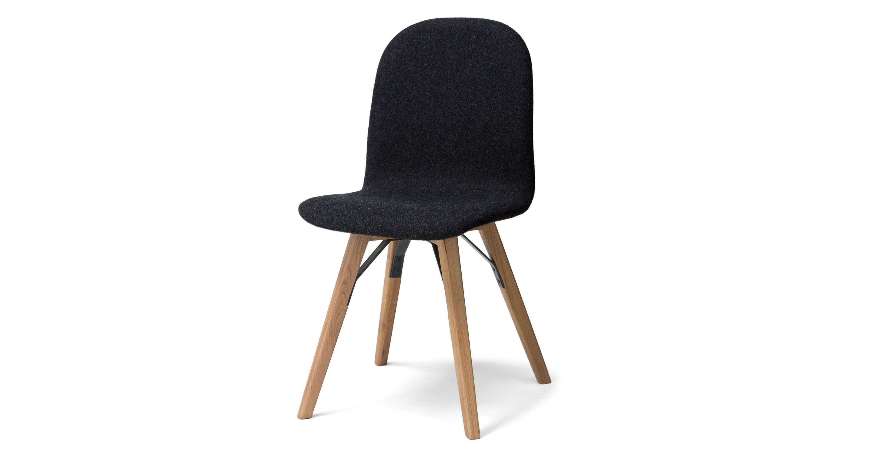 Mecana Coal Gray Oak Dining Chair Dining Chairs Article
